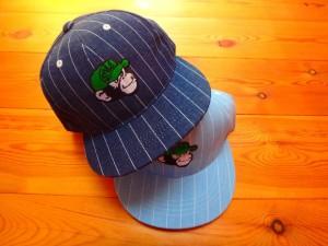 Denim Stripe Cap