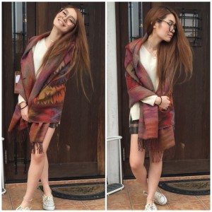 Native Hoodie Stole